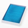 Pochette bleu vive